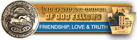 The odd Fellows Friendship, Love and Truth.