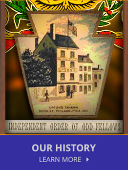 Learn more about the rich history of the Independent Order OF Odd Fellows.