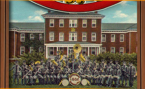 Did you know that the Odd Fellowship is one of the oldest fraternities in the world.